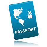Vector Passport Stock Images