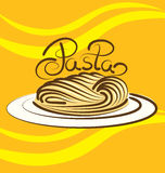 Vector Pasta Stock Photography