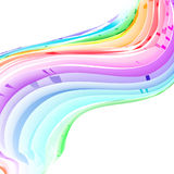 Vector pastel abstract rainbow gradient mesh multi color vibrant background. EPS 10. Vector pastel abstract rainbow gradient mesh multicolored vibrant background Stock Photos