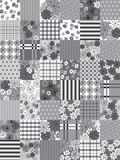 Vector patchwork Royalty Free Stock Images