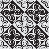 Vector patern cube. Black and white cube  pattern Royalty Free Stock Image