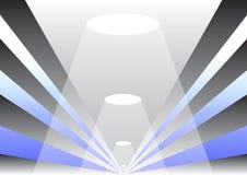 Vector patronengang Stock Afbeeldingen