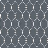Vector patroon Moderne textuur Het herhalen van abstracte achtergrond Eenvoudige golvende lineair Grafische minimalistische achte royalty-vrije illustratie