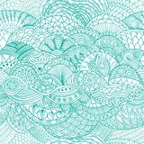 Vector pattern abstract background with colorful ornament.