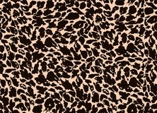 Seamless background of animal fur Royalty Free Stock Photo