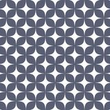 Vector pattern. Abstract stylish background with abstract star and flower or flora. Stock Image