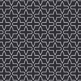 Vector pattern. Abstract stylish background with abstract star and flower or flora. Pattern is on swatches panel Stock Image