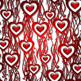 Vector pattern background. Decorations for invitations on Valent Royalty Free Stock Images
