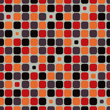 Vector pattern background with rounded corner squares. Royalty Free Stock Photo