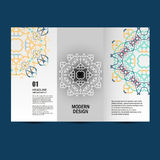 Vector pattern beautiful pattern on printed product. Design for books, banners, pages advertising Stock Image
