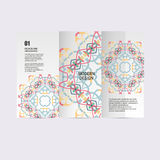 Vector pattern beautiful pattern on printed product. Design for books, banners, pages advertising Stock Images