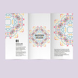 Vector pattern beautiful pattern on printed product. Design for books, banners, pages advertising Royalty Free Stock Images