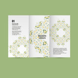 Vector pattern beautiful pattern on printed product. Design for books, banners, pages advertising Royalty Free Stock Photos
