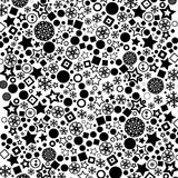Vector pattern black Royalty Free Stock Photography