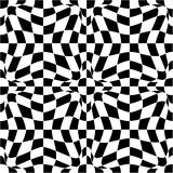 Vector pattern in black and white Stock Images