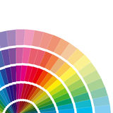 Vector pattern book of colors Stock Image