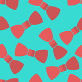 Vector pattern bow ties Royalty Free Stock Photo