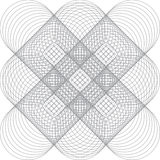 Vector pattern for certificate or diploma Royalty Free Stock Photography