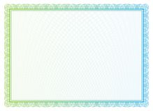 Vector pattern for currency and diplomas Stock Images