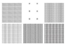 Vector Pattern Designs Royalty Free Stock Photos
