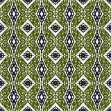 Vector pattern with Eastern ornament Royalty Free Stock Photo