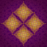 Vector pattern in Eastern style. Royalty Free Stock Image