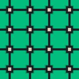 Vector pattern with ellipse and hemisphere Stock Photos