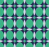 Vector pattern with ellipse and hemisphere Stock Images