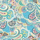 Vector  pattern of flowers and leaves oriental style. Elegant vector pattern of flowers and leaves in oriental style. It can be used for  textiles, designs, etc Stock Photography