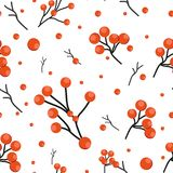 Vector pattern with flowers and plants. Floral decor. Original floral seamless background. Bright colors watercolor stock illustration