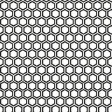 Vector pattern - geometric seamless simple black and white modern texture Royalty Free Stock Photo