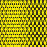 Vector pattern. Geometric seamless simple black and yellow modern texture Royalty Free Stock Photo