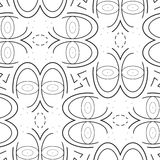 Vector pattern - geometric seamless simple modern texture Royalty Free Stock Image