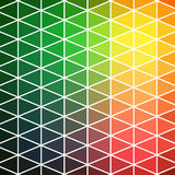 Vector pattern of geometric shapes. Colorful-mosaic-banner. Geometric hipster retro background with place for your text. Retro tri Royalty Free Stock Images