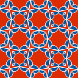 Vector pattern of geometric shapes. Mosaic seamless texture Stock Images