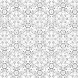 Vector pattern - geometric simple modern texture Stock Photography