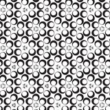 Vector pattern - geometric simple modern texture Stock Images