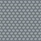 Vector pattern with geometric waves. Endless stylish texture. Ripple monochrome background. royalty free illustration