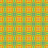 Vector pattern geometry 10. Graphic ornament made geometric shapes, different colors, shapes and sizes Stock Images