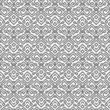 Vector pattern with gray smooth lines stock illustration