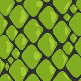 Vector Pattern of Green Snake Skin royalty free stock images
