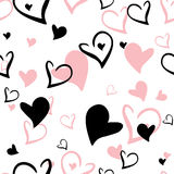 Vector pattern heart Royalty Free Stock Photo