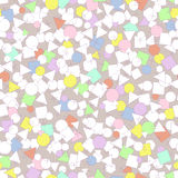 Vector pattern. illustration abstract background, image geometric shapes and symbols. Children and school pack Royalty Free Stock Photo