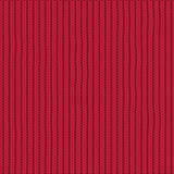 Vector pattern for knitting. On  red background Royalty Free Stock Image