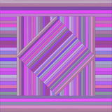 Vector pattern with lined squares. Abstract purple texture. Stock Photos