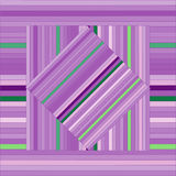 Vector pattern with lined squares. Abstract purple texture. Royalty Free Stock Image
