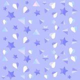 Vector pattern made with stars vector illustration