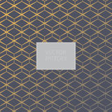 Vector pattern. Modern stylish texture. Repeating geometric tiles with rhombuses. Royalty Free Stock Images