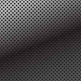 Vector pattern of perforation metal background. Stock Images