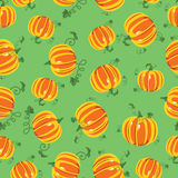 Vector pattern pumpkins seamless Stock Images
